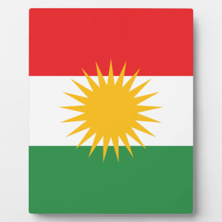 Flag of Kurdistan; Kurd; Kurdish Plaque