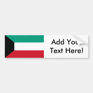 Flag of Kuwait Bumper Sticker