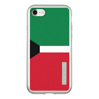 Flag of Kuwait Silver iPhone Case