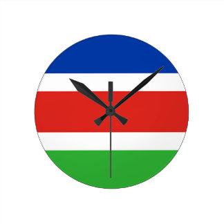 Flag of Laarbeek Round Clock