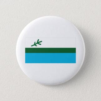 Flag of Labrador 6 Cm Round Badge