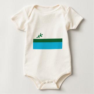 Flag of Labrador Baby Bodysuit