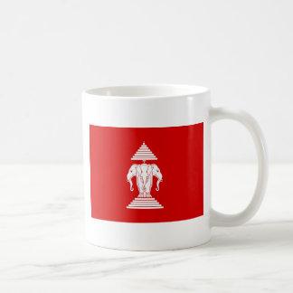 Flag of Laos (1952-1975) - ທຸງຊາດລາວ Coffee Mug
