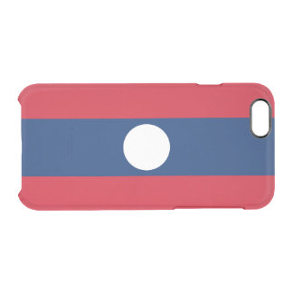 Flag of Laos Clear iPhone Case