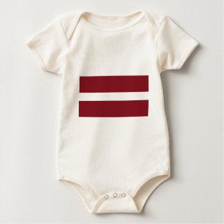 Flag of Latvia Baby Bodysuit