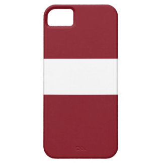 Flag of Latvia Barely There iPhone 5 Case