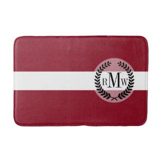 Flag of Latvia Bath Mat