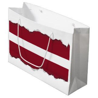 Flag of Latvia Large Gift Bag