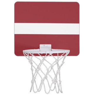 Flag of Latvia Mini Basketball Goal Mini Basketball Hoop
