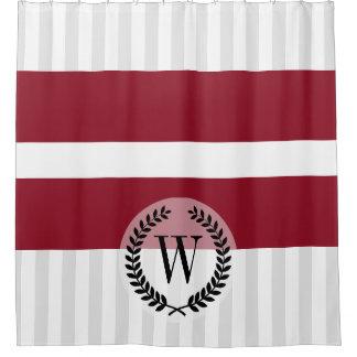 Flag of Latvia Shower Curtain