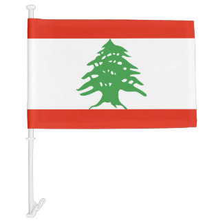 Flag of Lebanon Car Flag