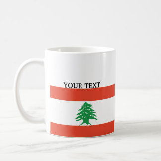 Flag of Lebanon Coffee Mug