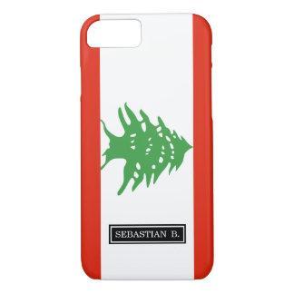 Flag of Lebanon iPhone 7 Case