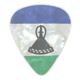 Flag of Lesotho Guitar Picks Pearl Celluloid Guitar Pick