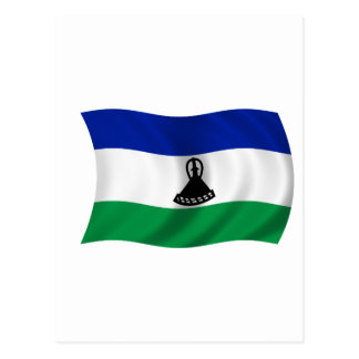 Flag of Lesotho Postcard