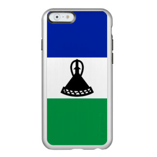 Flag of Lesotho Silver iPhone Case Incipio Feather® Shine iPhone 6 Case