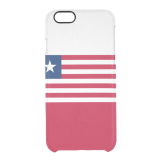 Flag of Liberia Clear iPhone Case