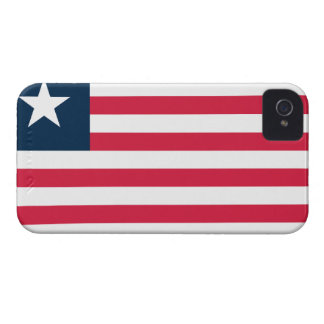 Flag of Liberia iPhone 4 Cover