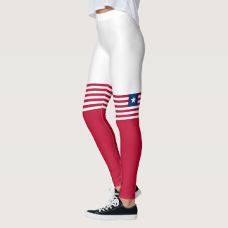 Flag of Liberia Leggings