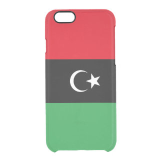 Flag of Libya Clear iPhone Case