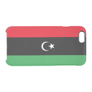 Flag of Libya Clear iPhone Case