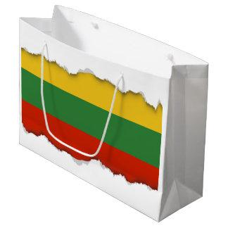Flag of Lithuania Large Gift Bag