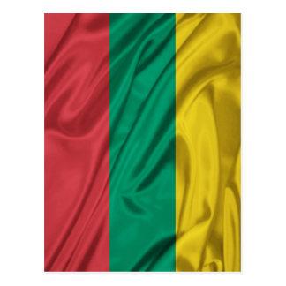 Flag of Lithuania Postcard