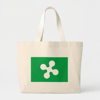 Flag_of_Lombardy. Large Tote Bag