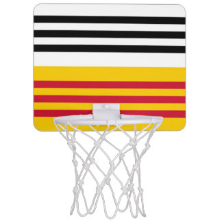 Flag of Loon op Zand Mini Basketball Hoop