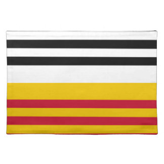 Flag of Loon op Zand Placemat
