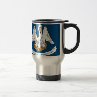Flag Of Louisiana Travel Mug