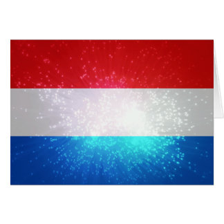 Flag of Luxembourg Note Card