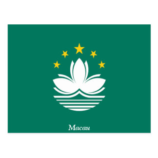 Flag of Macau Postcard