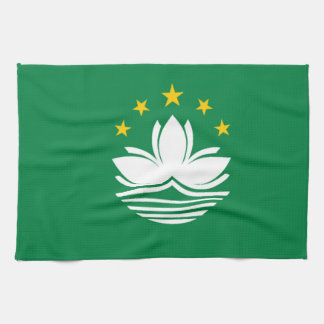 Flag of Macau Tea Towel