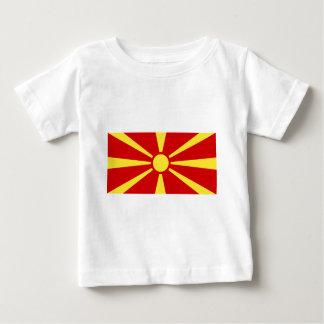 Flag_of_Macedonia Baby T-Shirt