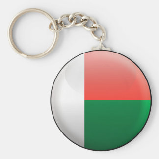 Flag of Madagascar Key Ring
