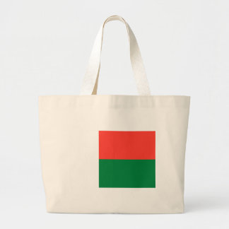 Flag_of_Madagascar Large Tote Bag