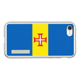 Flag of Madeira Silver iPhone Case