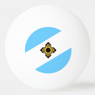 Flag of Madison, Wisconsin Ping Pong Ball