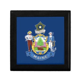 Flag Of Maine Gift Box