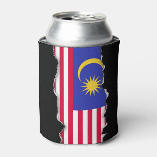 Flag of Malaysia Can Cooler