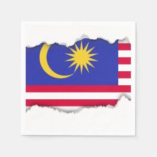 Flag of Malaysia Disposable Napkin