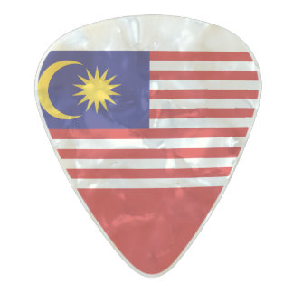 Flag of Malaysia Guitar Picks