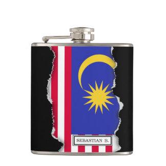 Flag of Malaysia Hip Flask