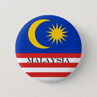 Flag of Malaysia Jalur Gemilang 6 Cm Round Badge