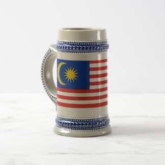 Flag of Malaysia Jalur Gemilang Beer Stein