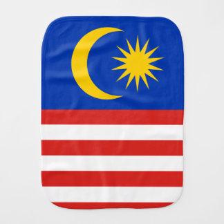 Flag of Malaysia Jalur Gemilang Burp Cloth