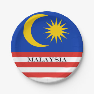 Flag of Malaysia Jalur Gemilang Paper Plate