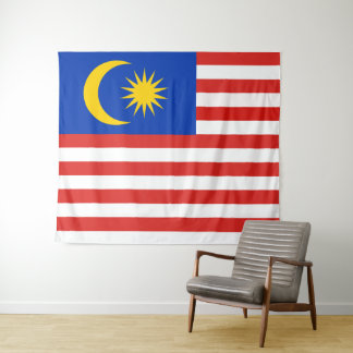 Flag of Malaysia Jalur Gemilang Tapestry
