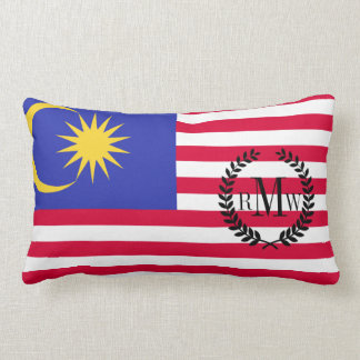 Flag of Malaysia Lumbar Cushion